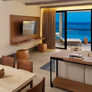 Luxury Mexico Holiday Packages UNICO 2080 Riviera Maya Hotel Estancia Suite Two Bedroom 3