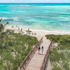 Luxury Mexico Holiday Packages UNICO 2080 Riviera Maya Hotel Beach