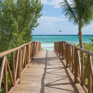 Luxury Mexico holiday Packages UNICO 2080 Riviera Maya Hotel Beach 4