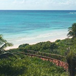 Luxury Mexico holiday Packages UNICO 2080 Riviera Maya Hotel Beach 5