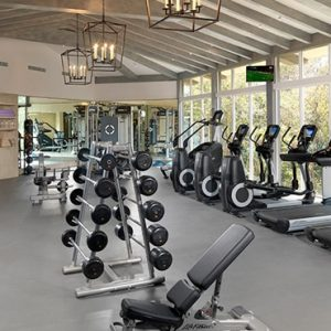 Luxury Mexico holiday Packages UNICO 2080 Riviera Maya Hotel Gym