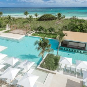 Luxury Mexico holiday Packages UNICO 2080 Riviera Maya Hotel Pool 2