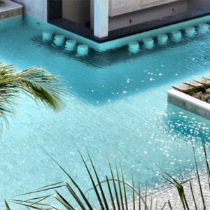 Luxury Mexico holiday Packages UNICO 2080 Riviera Maya Hotel Pool 3