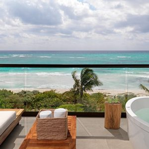 Luxury Mexico holiday Packages UNICO 2080 Riviera Maya Hotel Room