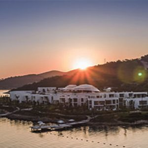 Nikki Beach Resort And Spa Luxury Dubai Honeymoon Packages Aerial View1