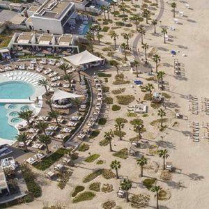 Nikki Beach Resort And Spa Luxury Dubai Honeymoon Packages Aerial View2