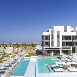 Nikki Beach Resort And Spa Luxury Dubai Honeymoon Packages Aerial View3