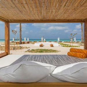 Nikki Beach Resort And Spa Luxury Dubai Honeymoon Packages Cabana By Beach