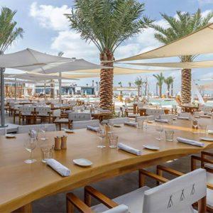 Nikki Beach Resort And Spa Luxury Dubai Honeymoon Packages Restaurant