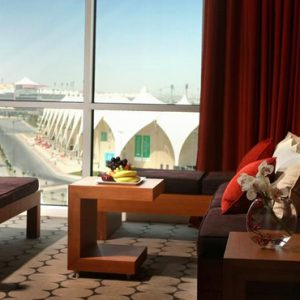 Luxury Abu Dhabi Holiday Packages Yas Island Rotana Abu Dhabi Club Rotana Premium Suite