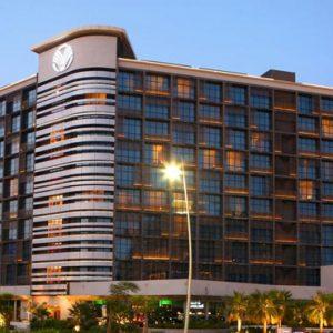 Luxury Abu Dhabi Holiday Packages Yas Island Rotana Abu Dhabi Exterior