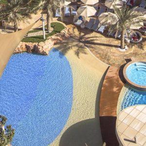Luxury Abu Dhabi Holiday Packages Yas Island Rotana Abu Dhabi Pool 2