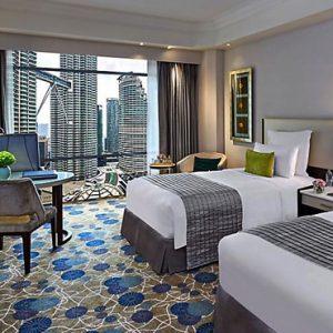 Luxury Malaysia Holiday Packages Mandarin Oriental Kuala Lumpur Club Twin Towers View Room 2