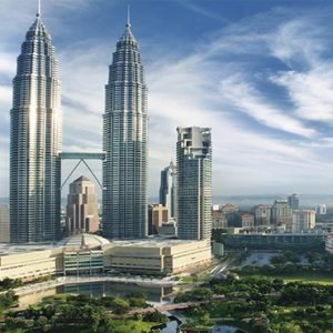 luxury Malaysia holiday Packages Mandarin Oriental Kuala Lumpur Exterior At Night