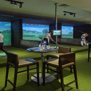 luxury Malaysia holiday Packages Mandarin Oriental Kuala Lumpur Indoor Golf