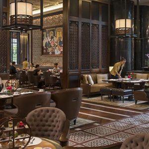 luxury Malaysia holiday Packages Mandarin Oriental Kuala Lumpur Lounge On The Park