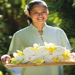 luxury Malaysia holiday Packages Mandarin Oriental Kuala Lumpur Spa Staff