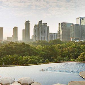 luxury Malaysia holiday Packages Mandarin Oriental Kuala Lumpur Swimming Pool2