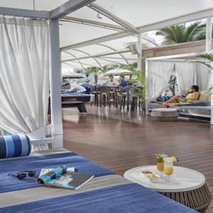 luxury Malaysia holiday Packages Mandarin Oriental Kuala Lumpur Pool Day Bed