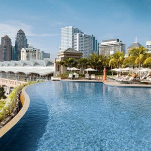 luxury Malaysia holiday Packages Mandarin Oriental Kuala Lumpur Pool2