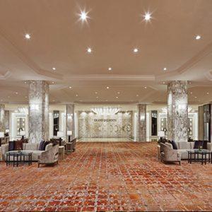 luxury Malaysia holiday Packages Shangri La Kuala Lumpur Foyer