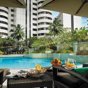 luxury Malaysia holiday Packages Shangri La Kuala Lumpur Pool