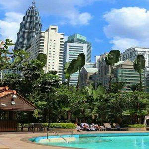 luxury Malaysia holiday Packages Shangri La Kuala Lumpur Pool1