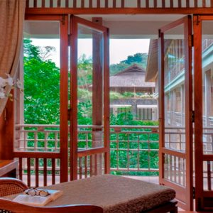 Luxury Malaysia Holiday Packages The Datai Langkawi Canopy Suites Daybed View