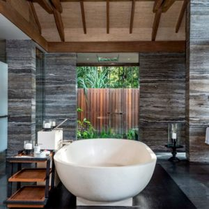 Luxury Malaysia Holiday Packages The Datai Langkawi One Bedroom Beach Villa Bathroom