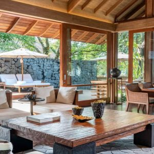 Luxury Malaysia Holiday Packages The Datai Langkawi One Bedroom Beach Villa Lounge