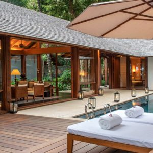 Luxury Malaysia Holiday Packages The Datai Langkawi One Bedroom Beach Villa Swimming Pool