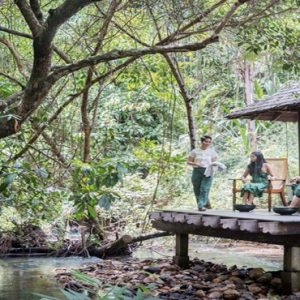 Luxury Malaysia Holiday Packages The Datai Langkawi Open Air Spa Villa By The Rainforest Stream
