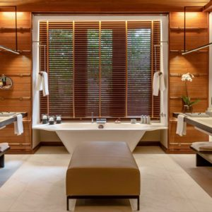 Luxury Malaysia Holiday Packages The Datai Langkawi Rainforest Pool Villa Bathroom