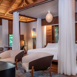 Luxury Malaysia Holiday Packages The Datai Langkawi Rainforest Pool Villa Bedroom