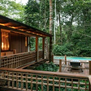 Luxury Malaysia Holiday Packages The Datai Langkawi Rainforest Pool Villa Exterior