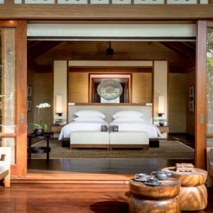 Luxury Malaysia Holiday Packages The Datai Langkawi Two Bedroom Beach Villa Bedroom View