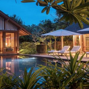 Luxury Malaysia Holiday Packages The Datai Langkawi Two Bedroom Beach Villa Exterior