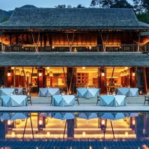 Luxury Malaysia Holiday Packages The Datai Langkawi Dining Room Exterior