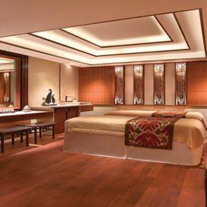 Shangri La Singapore Luxury Singapore Honeymoon Packages Couple Spa Treatment Room
