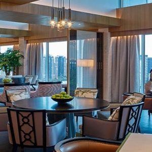 Shangri La Singapore Luxury Singapore Honeymoon Packages Horizon Club Lounge