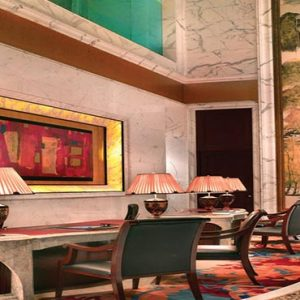Shangri La Singapore Luxury Singapore Honeymoon Packages Valley Wing Lobby Reception