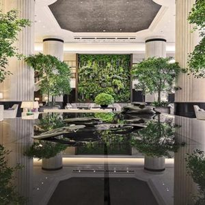 Shangri La Singapore Luxury Singapore Honeymoon Packages Lobby