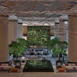 Shangri La Singapore Luxury Singapore Honeymoon Packages Lobby View