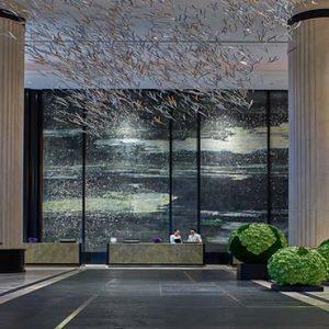 Shangri La Singapore Luxury Singapore Honeymoon Packages Lobby1