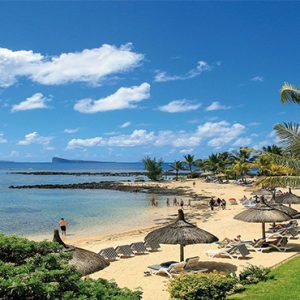 Canonnier Beachcomber Golf Resort And Spa Mauritius Luxury holiday Packages Beach