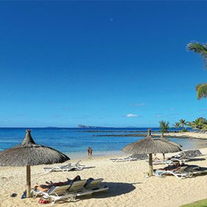 Canonnier Beachcomber Golf Resort And Spa Mauritius Luxury holiday Packages Beach1