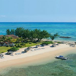 Canonnier Beachcomber Golf Resort And Spa Mauritius Luxury holiday Packages Aerial View