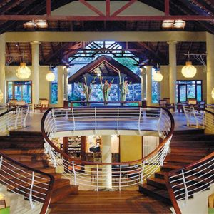 Canonnier Beachcomber Golf Resort And Spa Mauritius Luxury holiday Packages Hotel Stairway