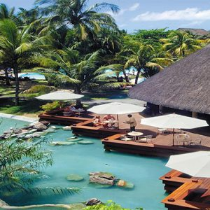Canonnier Beachcomber Golf Resort And Spa Mauritius Luxury holiday Packages Restaurant By Pool