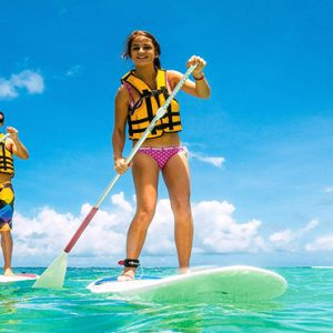Canonnier Beachcomber Golf Resort And Spa Mauritius Luxury holiday Packages Stand Up Paddling